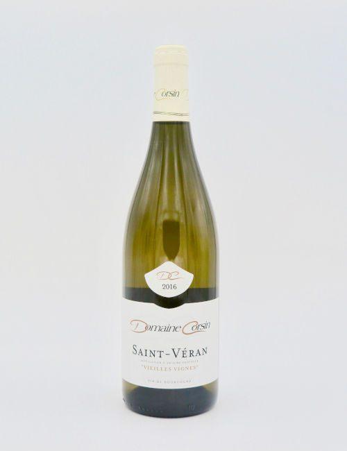Domaine Corsin Saint-Veran Vieilles Vignes 2016.