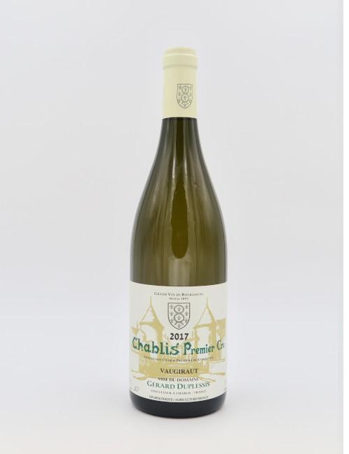 Domaine Gerard Duplessis Chablis Premier Cru Vaugiraut 2017 BIO-Wein