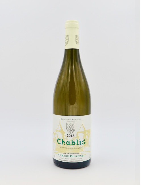 Domaine Gerard Duplessis Chablis AOC 2018 Bio-Wein