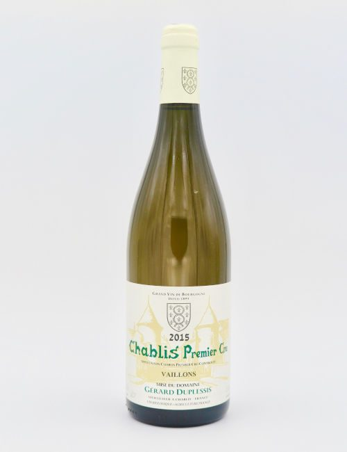 Gerard Duplessis Chablis Premier Cru Vaillons 2015