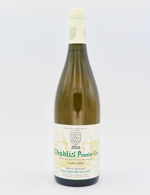 Gerard Duplessis Chablis Premier Cru Vaillons 2016