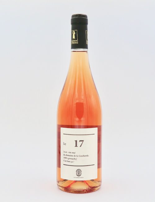 Domaine de la Guicharde le 17 Rose.