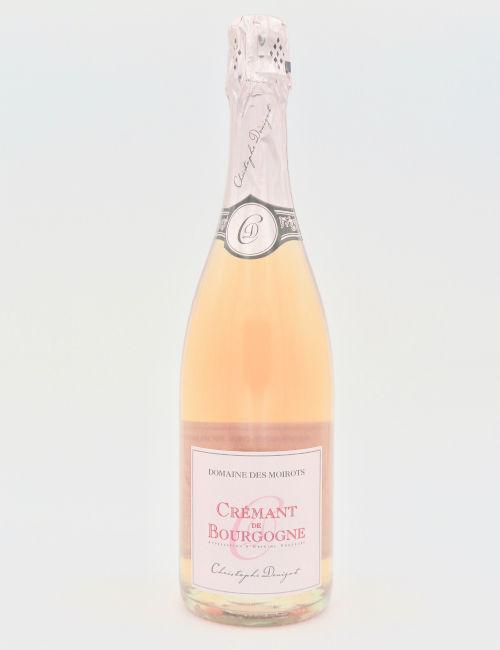 """Domaine des Moirots Cremant de Bourgogne Rose """"Christophe Denizot"""""""
