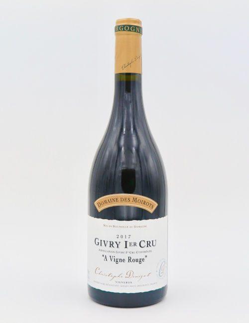 Domaine des Moirots Givry Premier Cru A Vigne Rouge 2017
