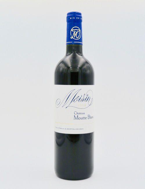 Chateau Moutte Blanc Moisin 2014 Petit Verdot Bordeaux Superieure