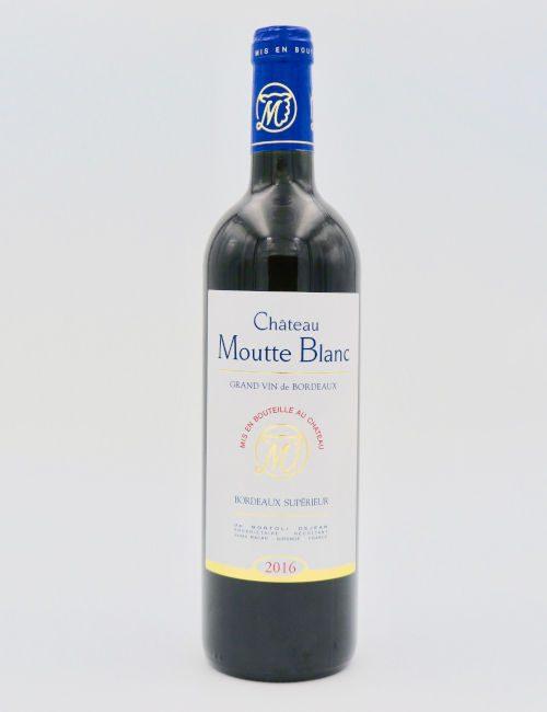 Chateau Moutte Blanc Vieilles Vignes 2016 Bordeaux Superieure