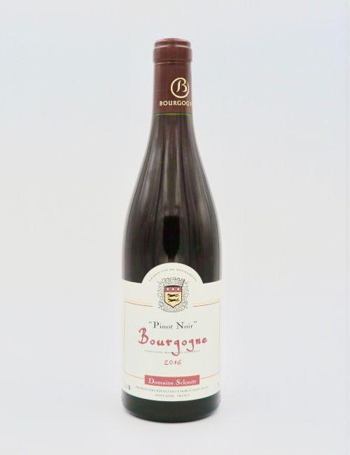 Domaine Schmitt Bourgogne Rouge Pinot Noir 2016