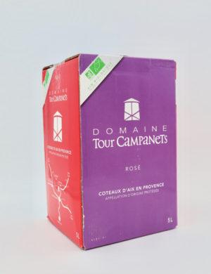 Domaine Tour Campanets Cuvee Tour Campanets Rose 2018 5-lit BIB