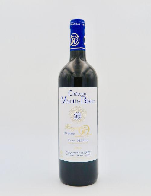 Chateau Moutte Blanc Cuvée Marguerite Dejean Haut-Médoc 2018