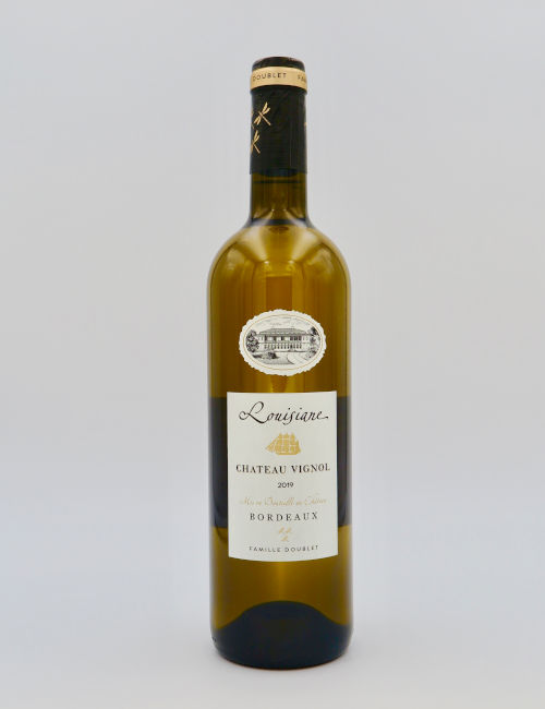 Chateau Vignol Bordeaux Blanc Louisiane 2019