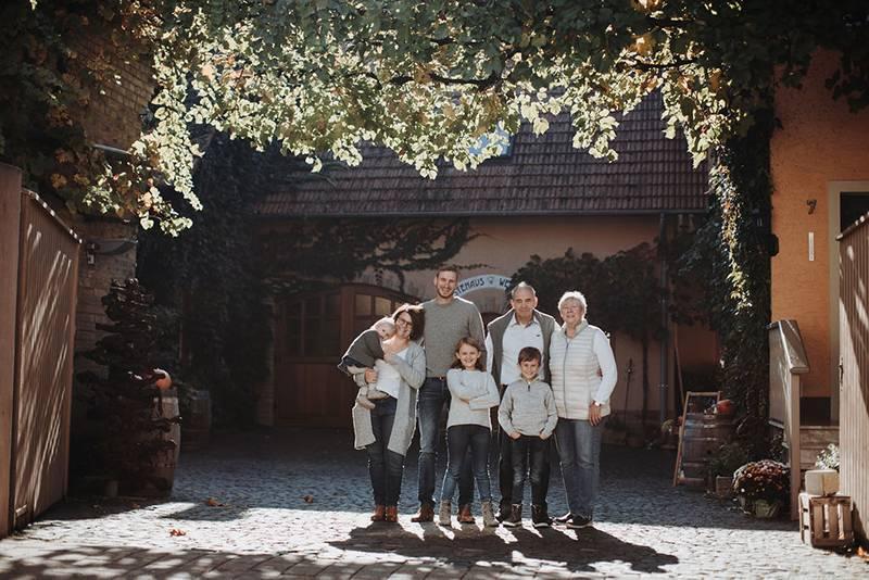 Familie Janson vom Weingut Janson