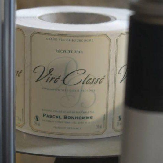 Etikett Viré-Clessé