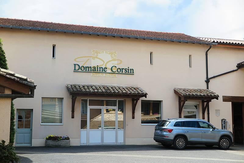 Weingut Domaine Corsin in Davaye