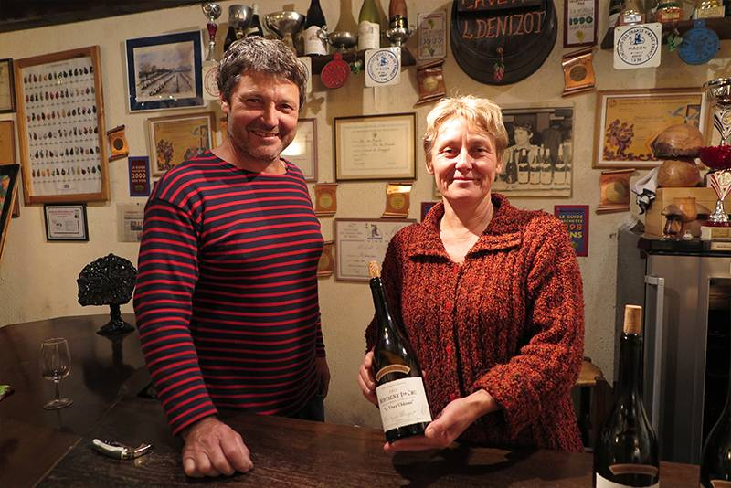 Christophe und Muriel Denizot Domaine des Moirots