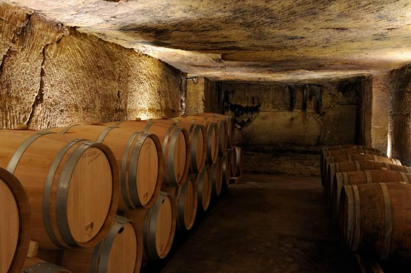 Weinkeller Chateau Roc de Boissac
